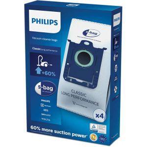 Vrečice za usisavač Philips FC8022/04 sintetičke, S-BAG, 4kom, antialergijska filtracija