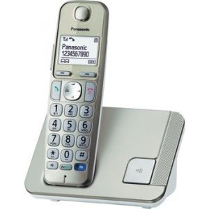 Telefon Panasonic KX-TGE210FXN zlatni