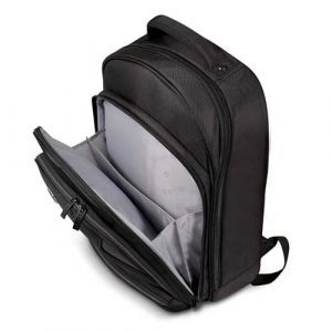 "Port ruksak Manhattan 15.6/17.3"", crna, kišna navlaka"