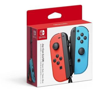 Nintendo Switch Joy-Con Pair Neon Red & Neon Blue