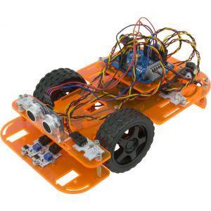 Ebotics, Code & Drive programska oprema DYI auto robot