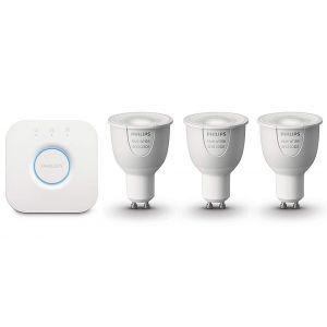 Starter kit Philips HUE 6.5W GU10 3 set EUR  color/bijeli*