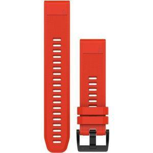 Zamjenski remen za Garmin  fenix 5/6 - vatreno crveni QuickFit 22mm