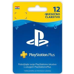 PlayStation Plus Card 365 Days Hanger