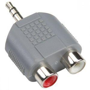 Bandridge BAP432, audio adapter 3.5mm m - 2XRCA ž