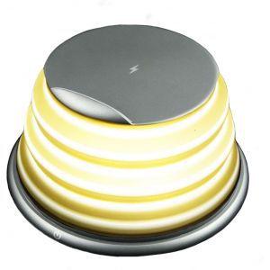 KSIX  brzi bežićni punjač 10W sa svijetlom 4 boje