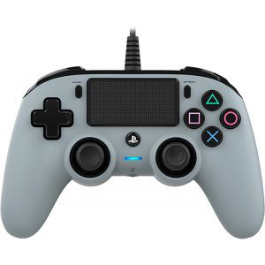 Bigben Wired Nacon Controller PS4 3m kabel (PC compatible) sivi