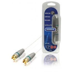 Bandridge BVL9101, antenski kabel F konektor m, 1.0m