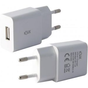 KSIX putni punjač USB 5V-2.1A
