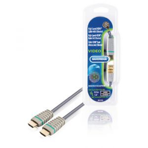 Bandridge BVL1200, HDMI 1.4 kabel, 0.5m