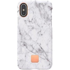 Happy Plugs slim maskica za iPhone X/XS White Marble