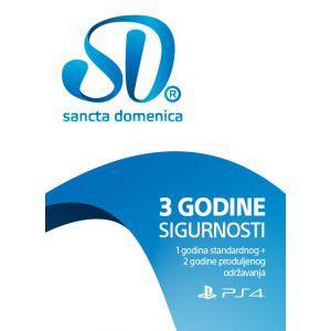 SD PS4 3 godine sigurnosti (1 godina standardnog + 2 godine produljenog održavanja)