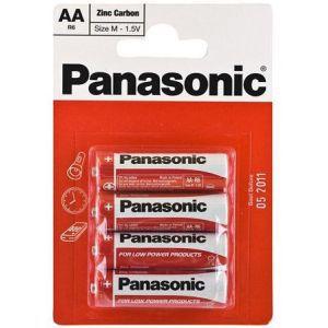Baterije Zinc Carbon Panasonic R6RZ/4BP
