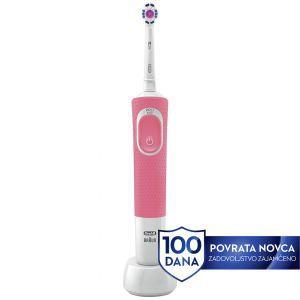Četkica za zube OralB D100 VITALITY 3DW PINK