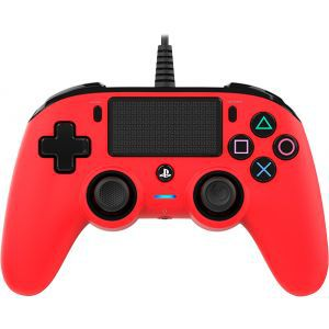 Bigben Wired Nacon Controller PS4 3m kabel (PC compatible) crveni