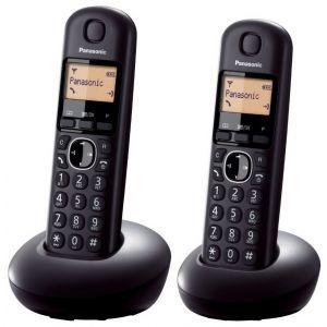 Telefon Panasonic KX-TGB212FXB crni, 2 slušalice