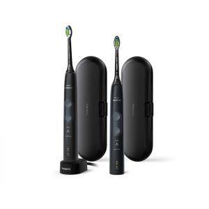 Četkica za zube Philips Sonicare HX6850/34 ProtectiveClean 5100, DUO Black & Black