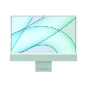Apple 24-inch iMac with Retina 4.5K display: Apple M1chip with 8-core CPU and 8-core GPU, 512GB - Green