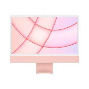 Apple 24-inch iMac with Retina 4.5K display: Apple M1chip with 8-core CPU and 8-core GPU, 256GB - Pink