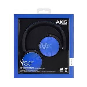 Outlet_Bežične slušalice AKG Y50BT PLAVE, headset, preko ušiju