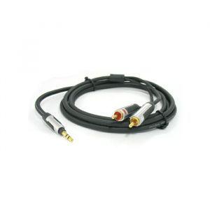 Profigold PROA3401 audio kabel 3.5mm m - 2X RCA m 1.0m