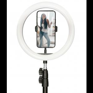 KSIX studio live max LED ring tripod kit za smartphone 1.6m