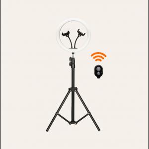 KSIX studio live remote control KIT 12 LED ring 1.6m tripod