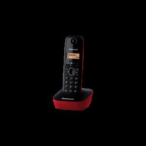 Telefon Panasonic KX-TG1611R crveni