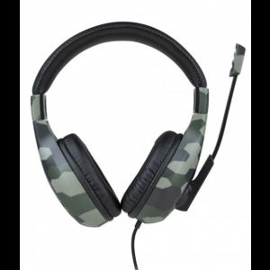 Bigben stereo gaming slušalice PS5 40mm speakers, 3.5mm jack Cammo
