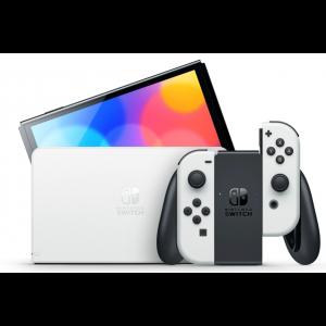 Nintendo Switch OLED Console - White Joy-Con