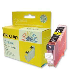 Orink tinta za Canon, CLI-8Y, žuta