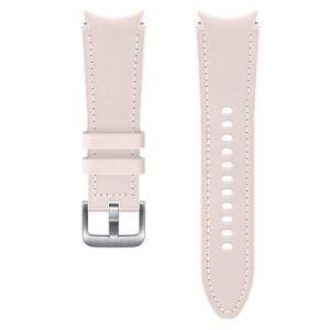 Dodatni kožni remen 20mm S/M za Samsung Galaxy Watch4 Classic rozi ET-SHR88SPEGEU