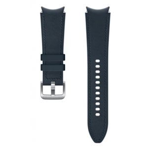 Dodatni kožni remen 20mm M/L za Samsung Galaxy Watch4 Classic navy plavi ET-SHR89LNEGEU