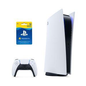 PlayStation 5 Digital Edition B chassis + PS Plus 365 dana
