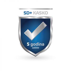 SD+ KASKO Zaštita 5god (stacionarni uređaji, laptopi) - puno pokriće, franšiza 25%/ laptopi 33% (37.501-75.000kn)