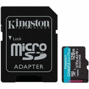 Kingston 128GB micSDHC Canvas Go Plus + ADP