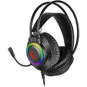 Slušalice RAMPAGE RM-K27 X-JAMMER,mikrofon, PC/PS4/Xbox, LED, crne