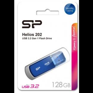 SP USB 3.2 FLASH DRIVE HELIOS 202 128GB BLUE