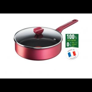 Lonac Tefal Daily Chef G2733272 niski 24cm + stakleni poklopac