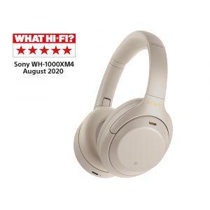Slušalice Sony bežične s funkcijom blokade buke WH-1000XM4/S