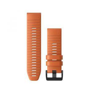 Zamjenski remen za Garmin fenix 6x - Ember Orange  Quickfit, 26mm