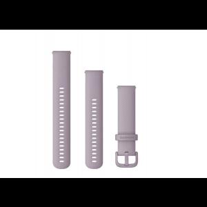 Zamjenski remen Garmin za brzo skidanje 20mm silikonski ljubičasti
