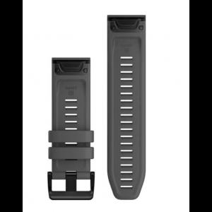 Zamjenski remen za Garmin QuickFit 26mm Dark Gray Silicone