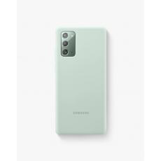 Silikonska maska za Samsung Galaxy Note20 mistično zelena EF-PN980TMEGEU