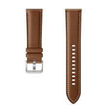 Dodatni kožni remen za Samsung Galaxy Watch 3 (22mm, M/L) smeđi ET-SLR84LAEGEU