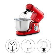 Kuhinjski robot Klarstein, Bella Pico 2 G, crveni