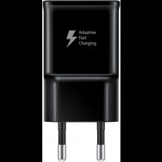 Punjač Samsung TA20 15W Fast Charge USB-A crni bez kabela EP-TA20EBENGEU