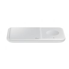 Bežični punjač Samsung Duo 30W za 2 mobitela ili sat bijeli EP-P4300TWEGEU