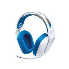 Logitech Slušalice Gaming G335, s mikrofonom, bijele