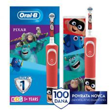 Četkica za zube OralB D100 VITALITY KIDS PIXAR + PUTNA TORBICA - novo